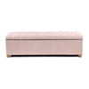 Ashlee Blanket Box Dusty Pink - Black Mango