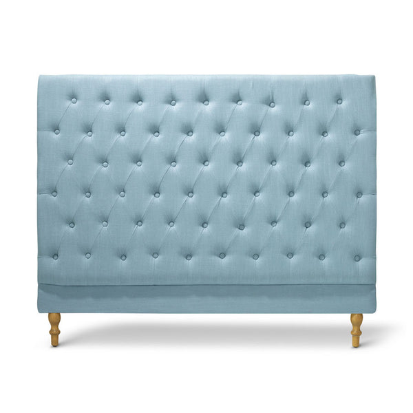 Charlotte Chesterfield Bedhead Double Size Teal