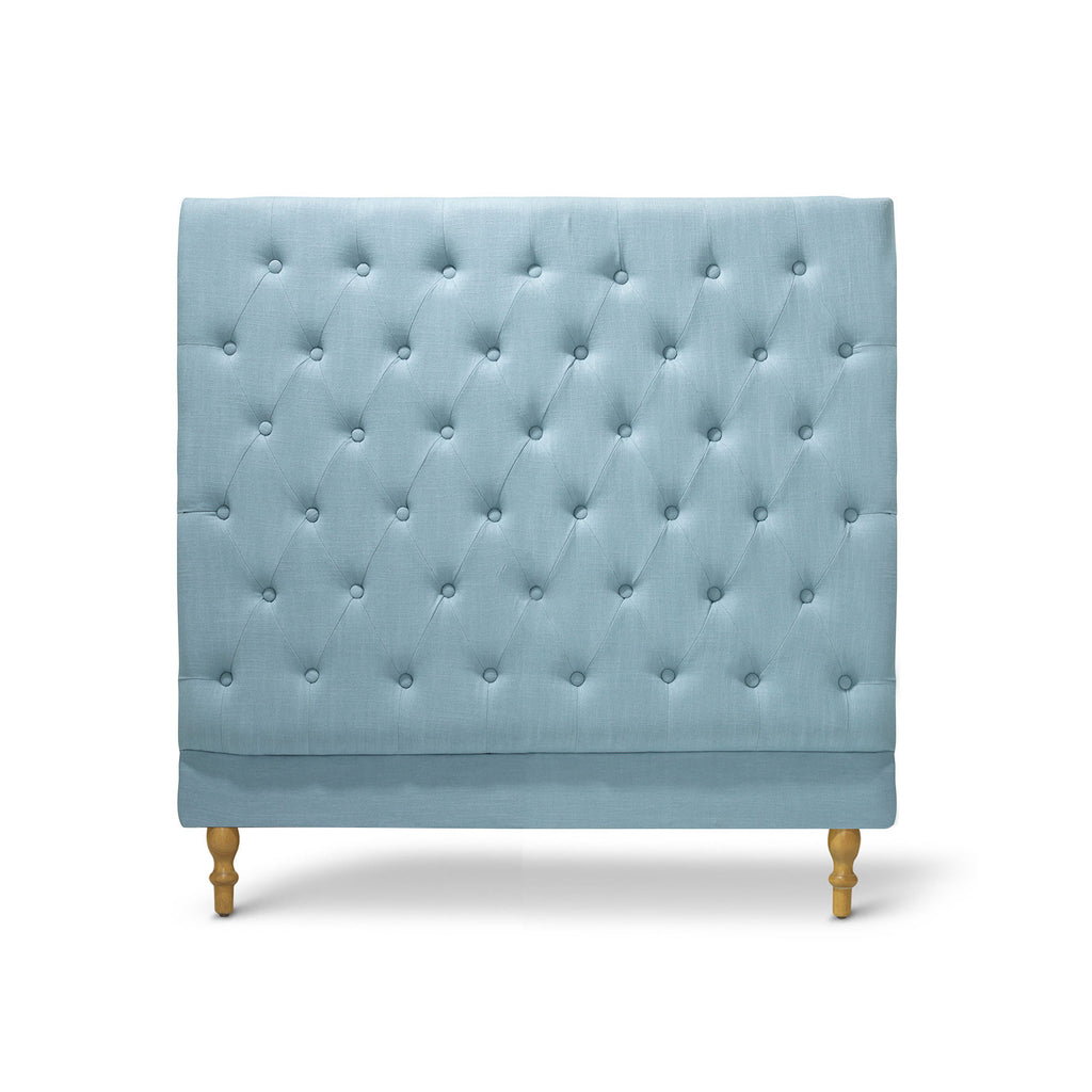 Charlotte Chesterfield Bedhead King Single Size Teal