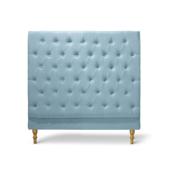 Charlotte Chesterfield Bedhead King Single Size Teal - Black Mango