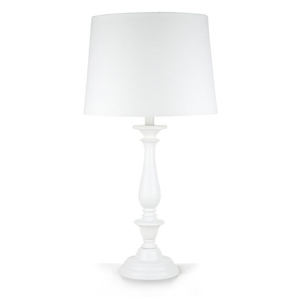 Classic Style Table Lamp White 69cm