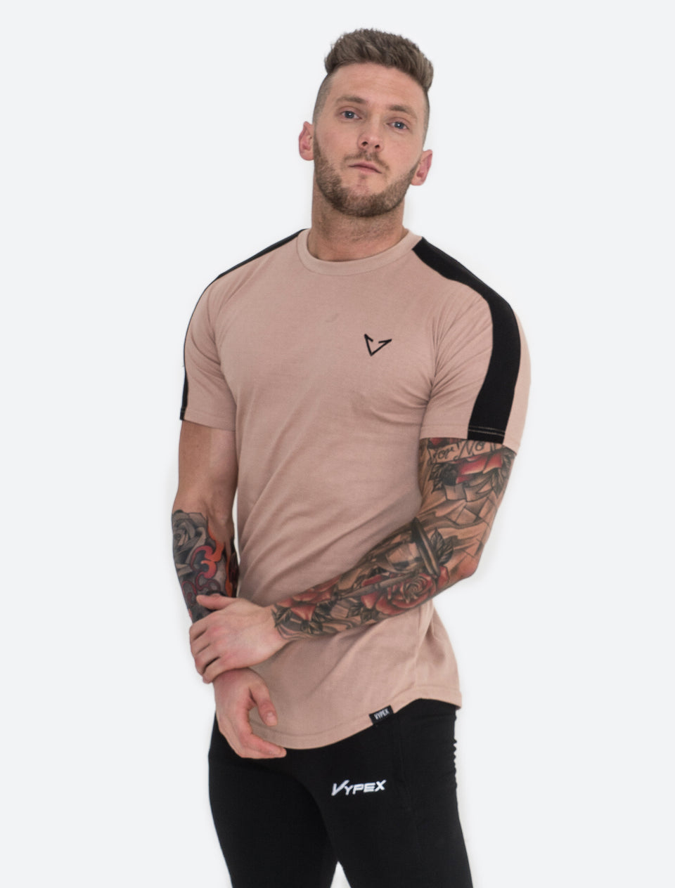 Vypex® Force Tapered T-Shirt - Sand/Black