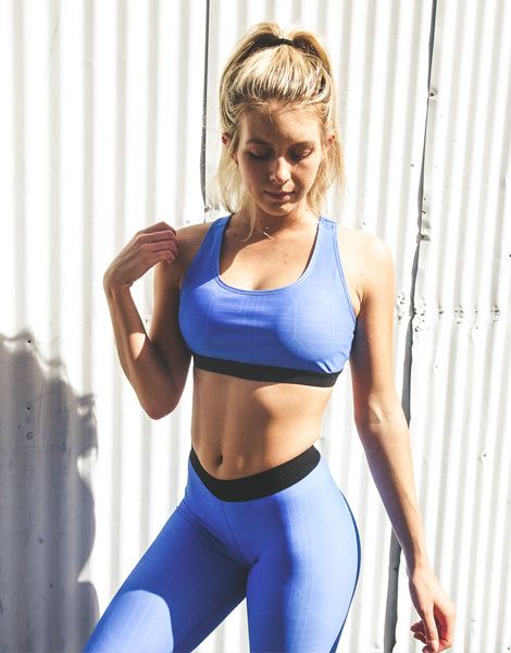 Vypex® Divine Sports Bra - Blue