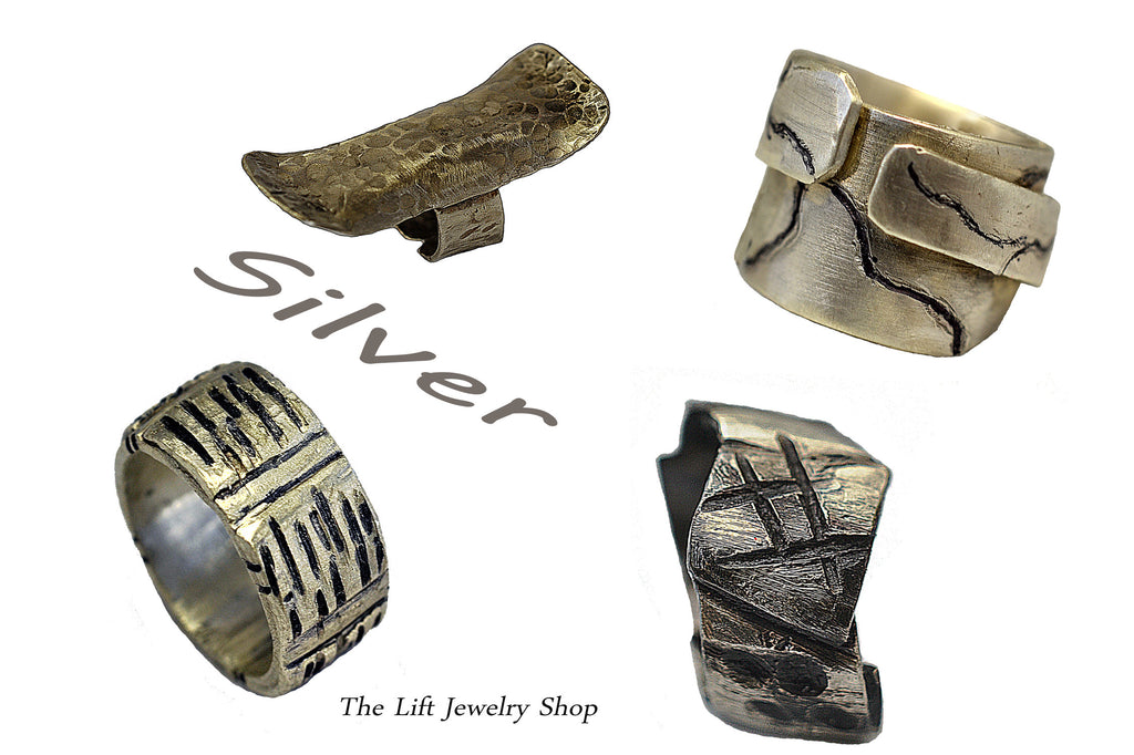 Silver Ring Collection - The Lift Jewelry Shop