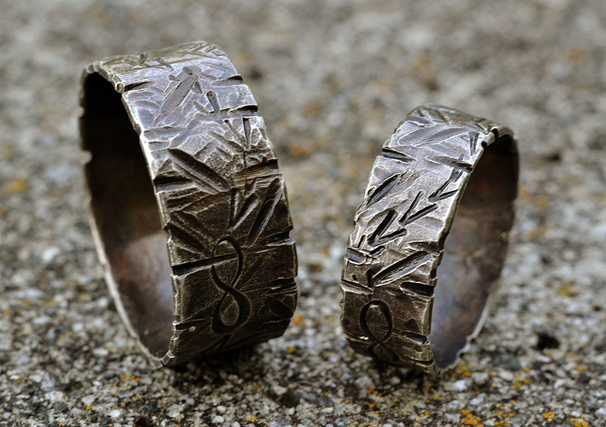 3443496da8 ... Sterling Silver Couple's Rings, Infinity Symbol Rings, His Hers Promise  Rings, Boyfriend Girlfrend · Matching ...