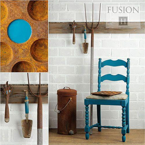 Fusion Mineral Paint- Renfrew Blue - One More Time Vintage