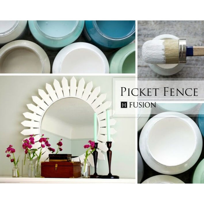 Fusion Mineral Paint- Picket Fence - One More Time Vintage