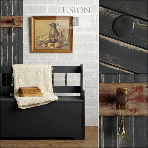Fusion Mineral Paint- Ash - One More Time Vintage