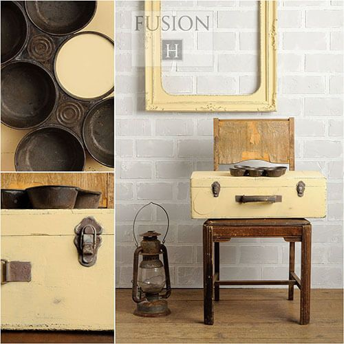 Fusion Mineral Paint- Buttermilk Cream - One More Time Vintage