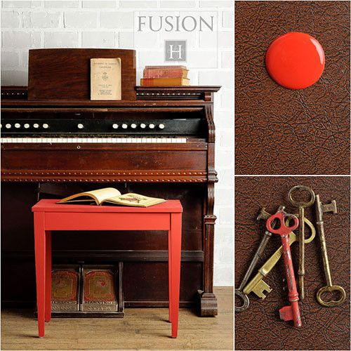 Fusion Mineral Paint- Fort York Red - One More Time Vintage