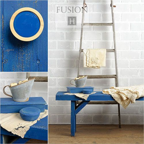 Fusion Mineral Paint- Liberty Blue - One More Time Vintage