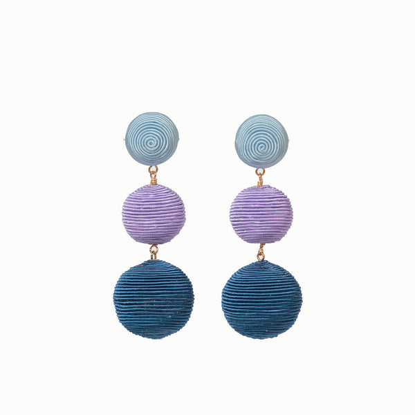 KEP Ball Drop Collection-  3 Drop Sky Blue, Lavender, Navy