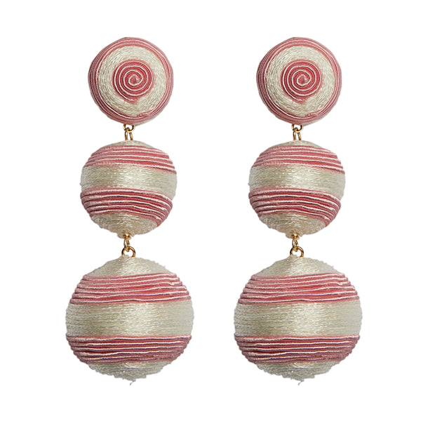 Summer Striped Ball Drop - View More Colors