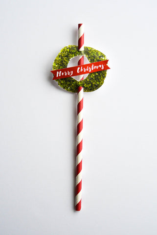 The Boxwood - Christmas Straws | Pack of 10 | SOLD OUT
