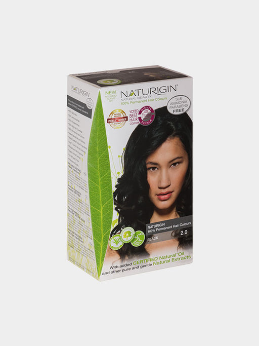 NATURIGIN Permanent Hair Colour- Black 2.0