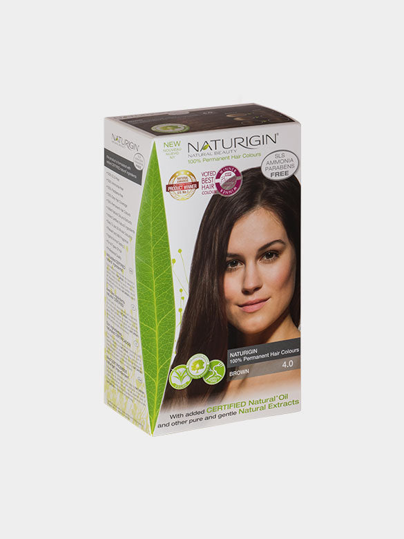 NATURIGIN Permanent Hair Colour- Brown 4.0