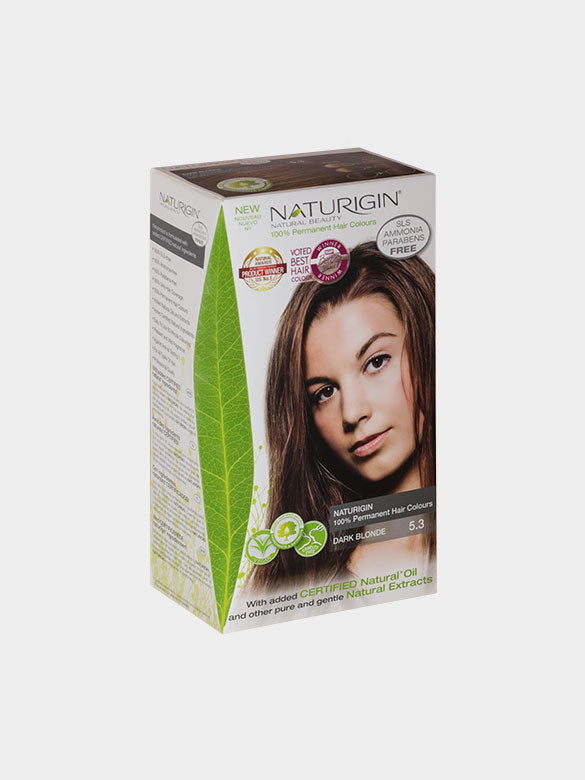 NATURIGIN Permanent Hair Colour- Dark Blonde 5.3