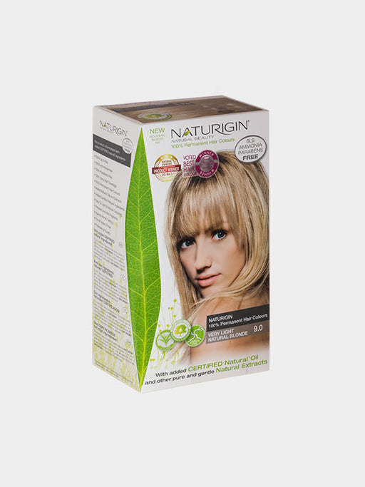 NATURIGIN Permanent Hair Colour- Very Light Natural Blonde 9.0