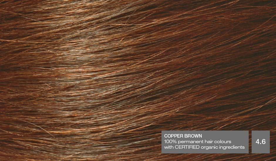 NATURIGIN Permanent Hair Colour- Copper Brown 4.6