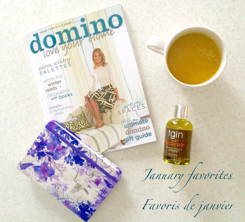 domino magazine, TGIN argan oil