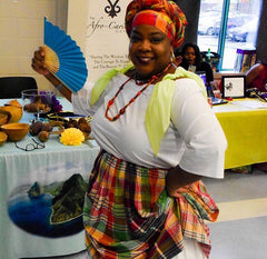 Suzan of AfroCarib Dance Workshop for Black History Month Ottawa