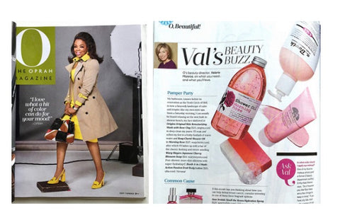 Oprah magazine feature - Japanese Cherry Blossom Soap by Wary Meyers