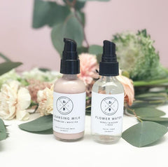 Birchrose and Co Facial Cleanser and Facial Water