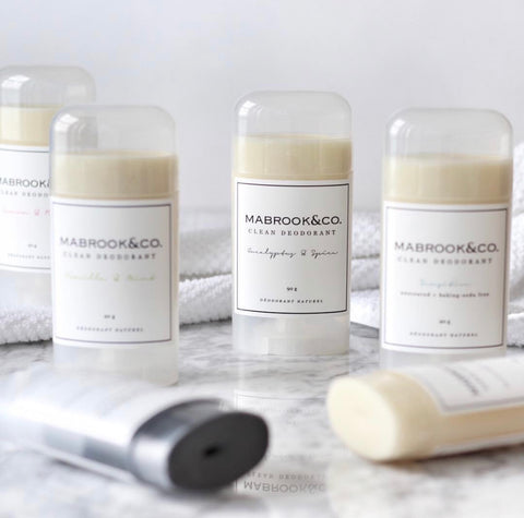 Mabrook & Co Natural Clean Deodorant