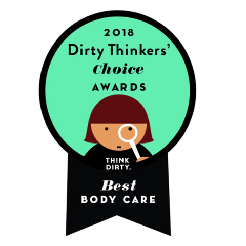 Think Dirty 2018 Best Body Care Brand