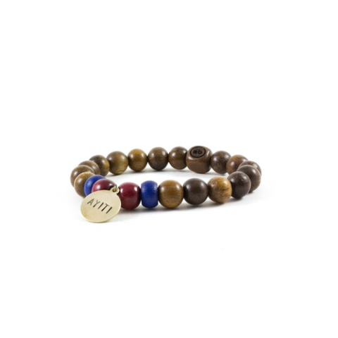 Enbois by maxim Haiti Bracelet in support of the Haiti Tree Project