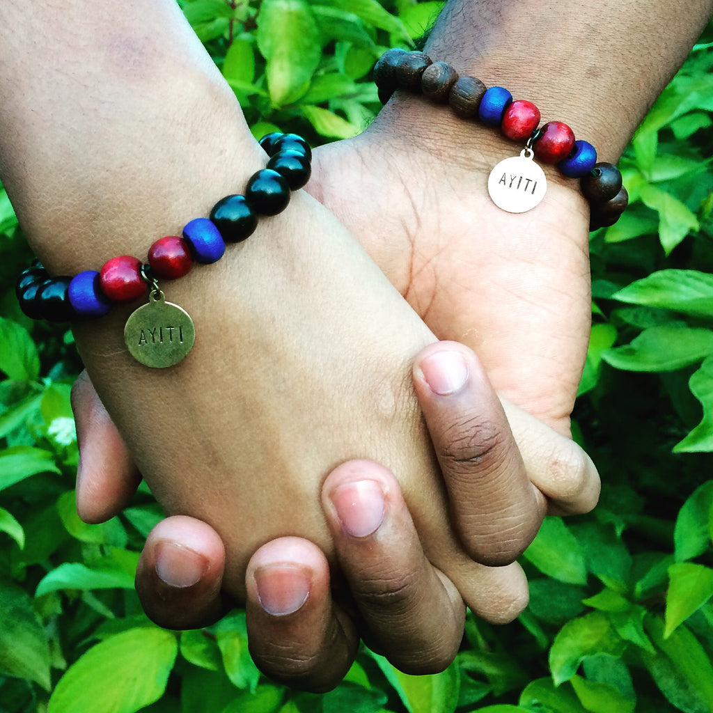 ENBOIS BY MAXIM AYITI BRACELET SUPPORT THE HAITI TREE PROJECT