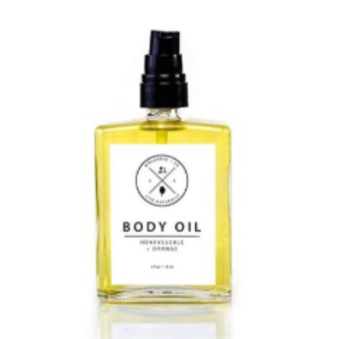 Birchrose and Co Honeysuckle Orange body oil