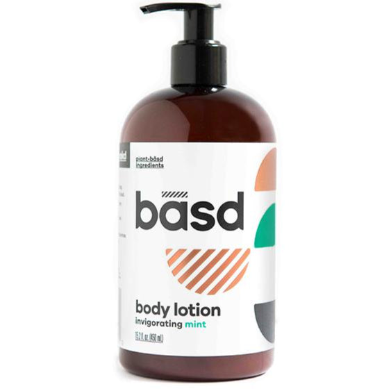 Basd bodycare invigorating mint body lotion