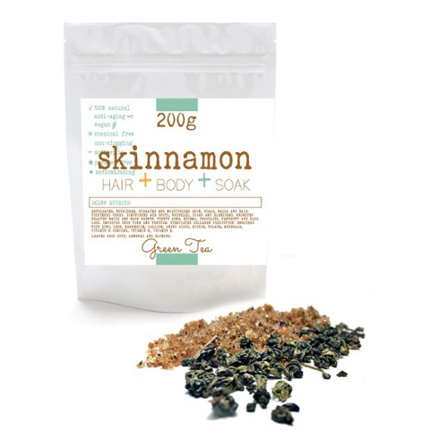 Skinnamon Green Tea Scrub at Malachite + Elephant - Canada