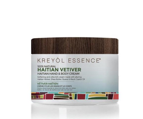 Haitian Vetiver Body and Hand Cream - Kreyol Essence