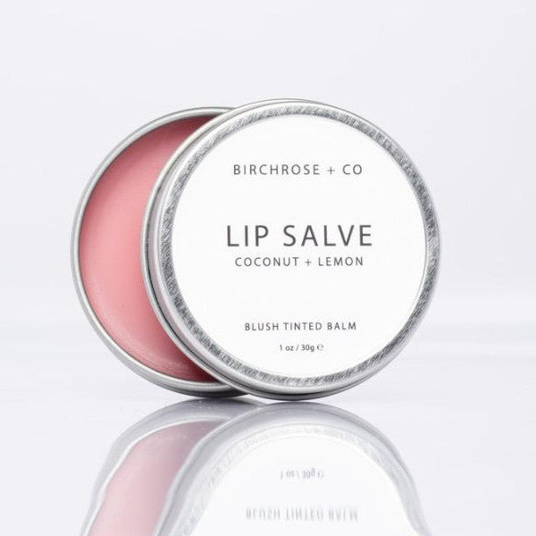 BIRCHROSE + CO Lip balm in Coconut and Lemon