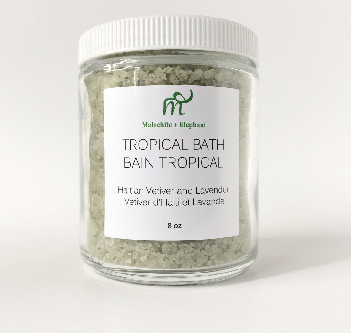 Tropical Bath with vetiver & lavender essential oils