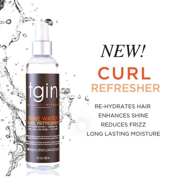 TGIN ROSE WATER CURL REFRESHER