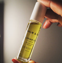 Lunar Oil by Balm & co for PMS symptoms