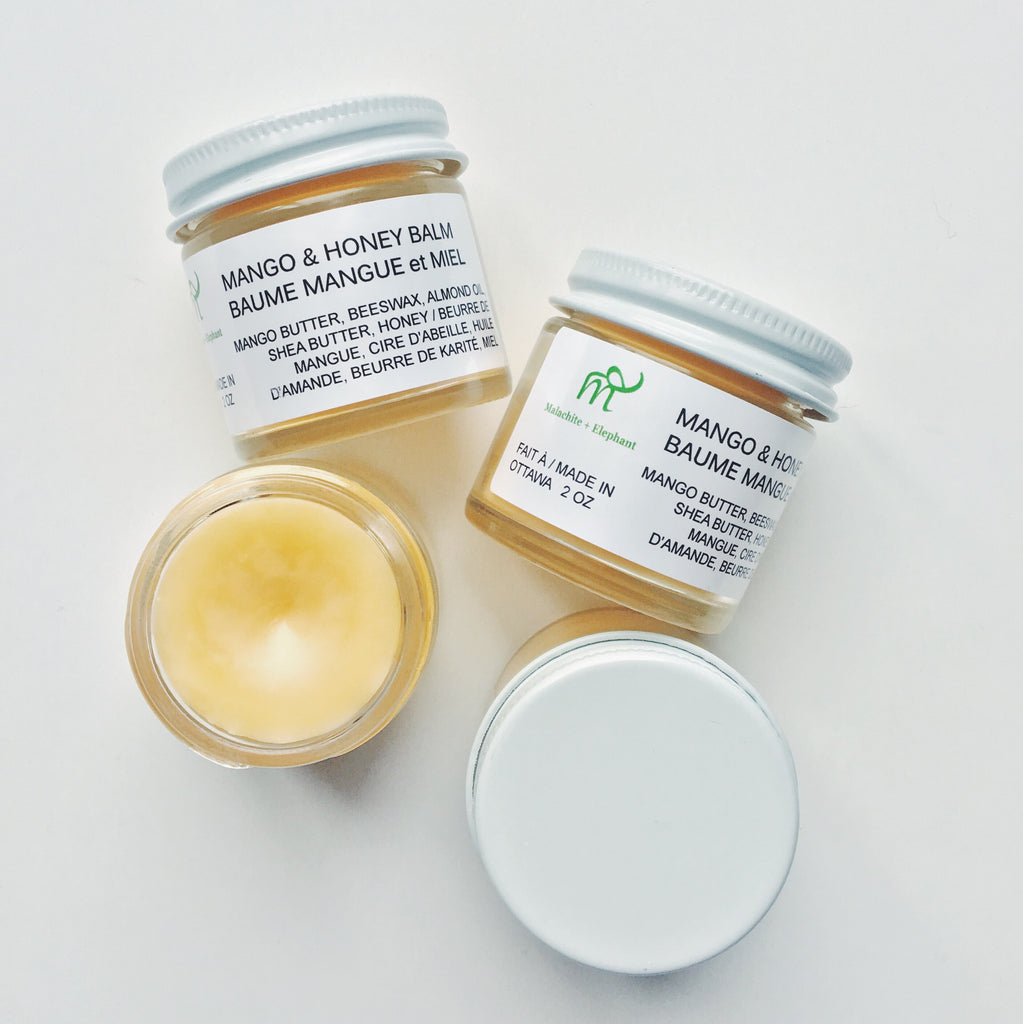 mango & honey balm