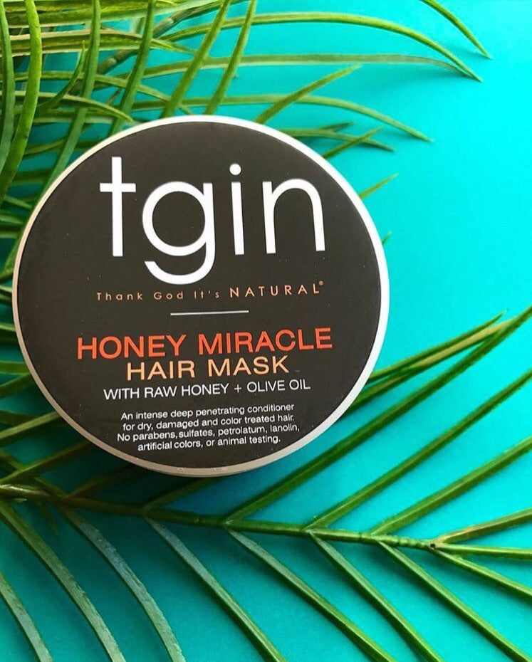 TGIN Honey Miracle Deep Conditioner for Natural Hair - Malachite + ...