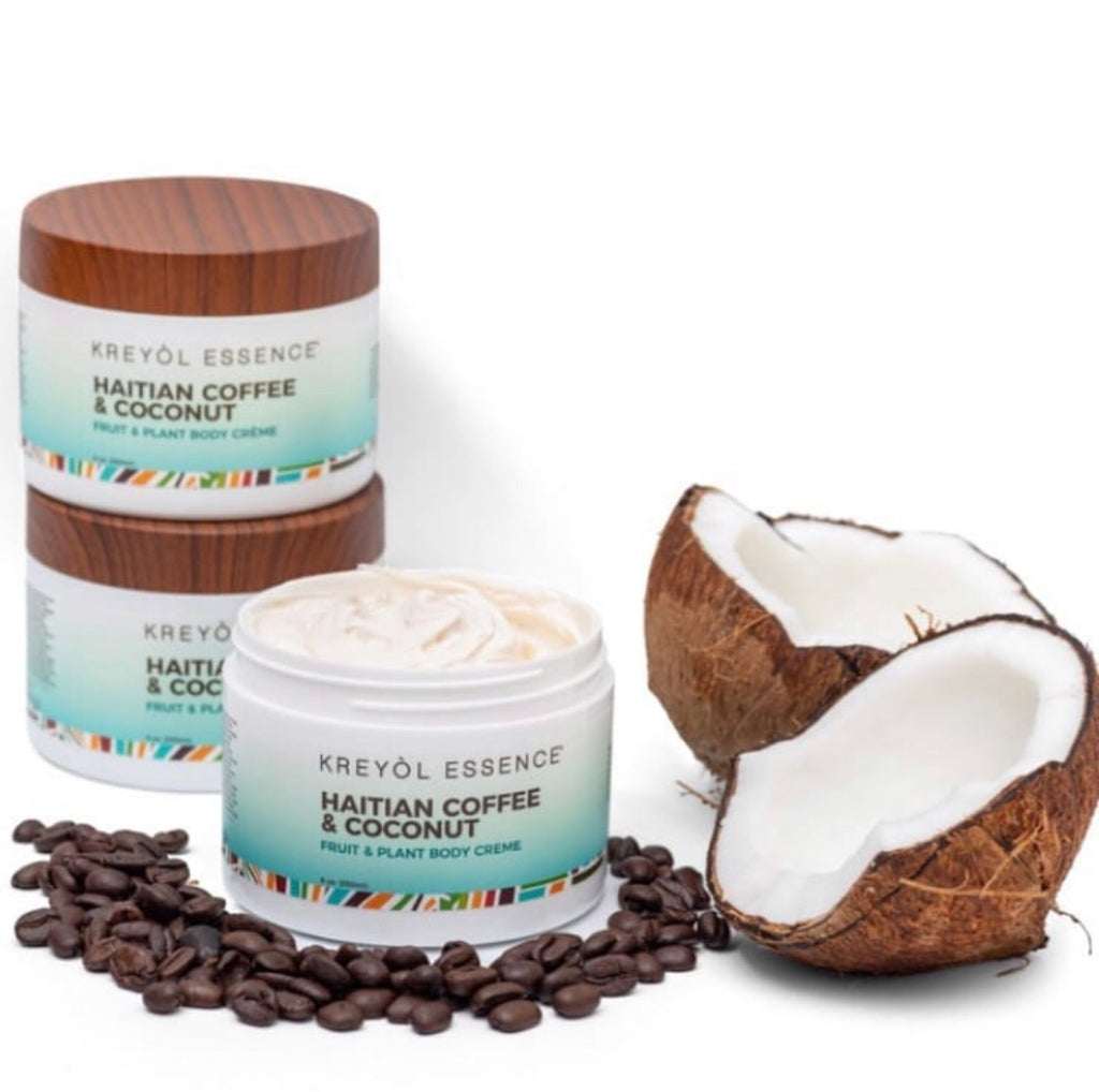 Haitian Coffee & Coconut Body Cream