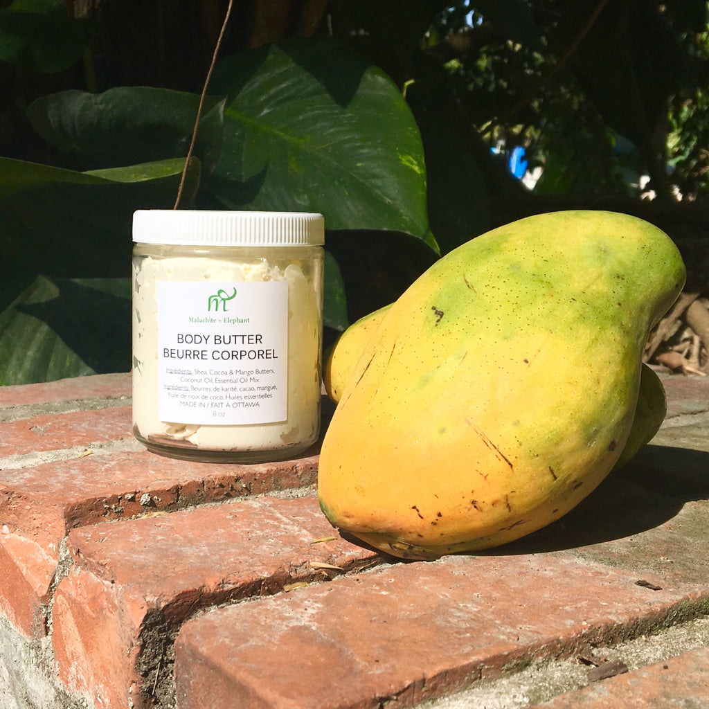 Body Butter with mango butter
