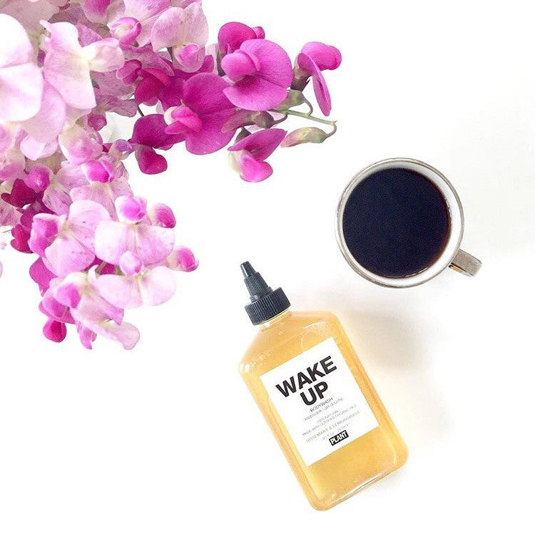 wake up bodywash by plant apothecary