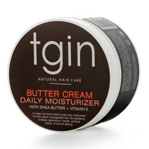 TGIN butter cream daily moisturizer with shea butter + vitamin e