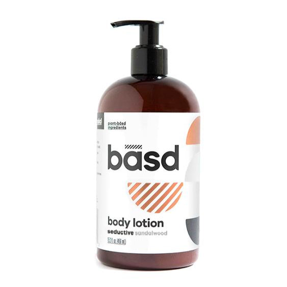basd bodycare lotion - sandalwood