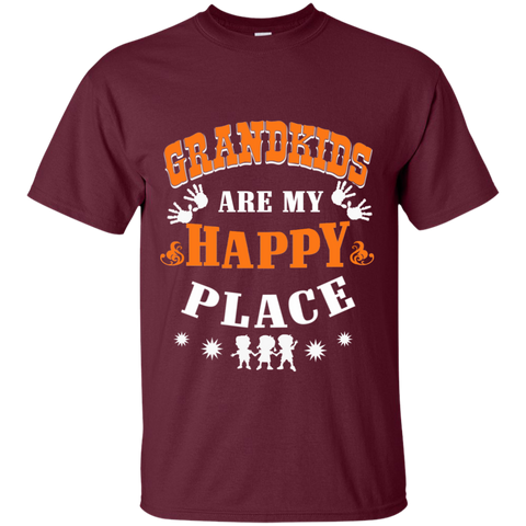 Grandkids are my Happy Place  T-Shirt