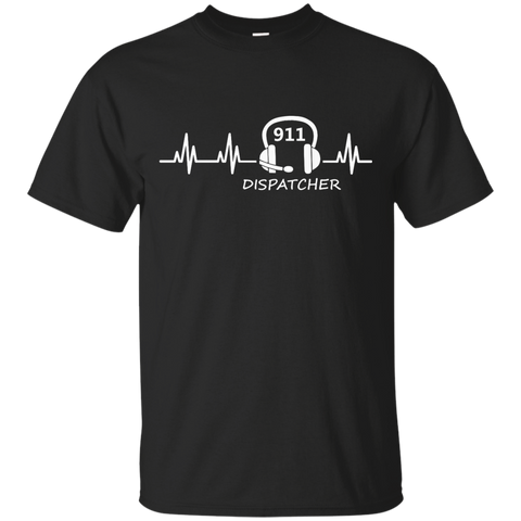 911 Dispatcher Heartbeat  T-Shirt