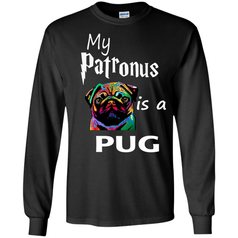 My Patronus is a pug LS  Tshirt