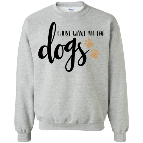 I just want all the dogs  Sweater